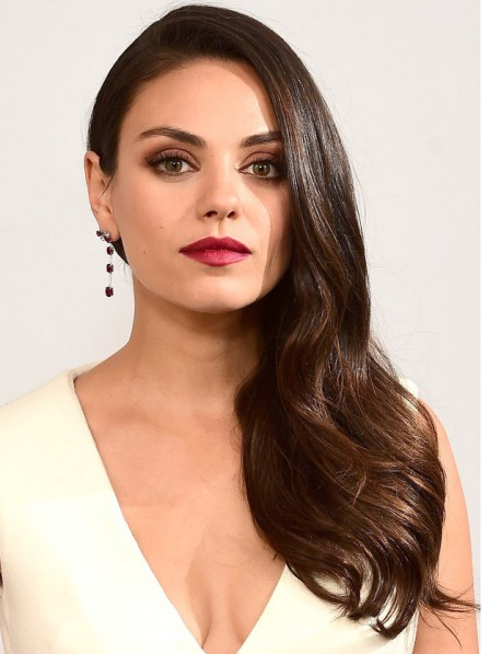 New Arrival Mila Kunis Natural Remy Human Hair Wigs With Best Quality