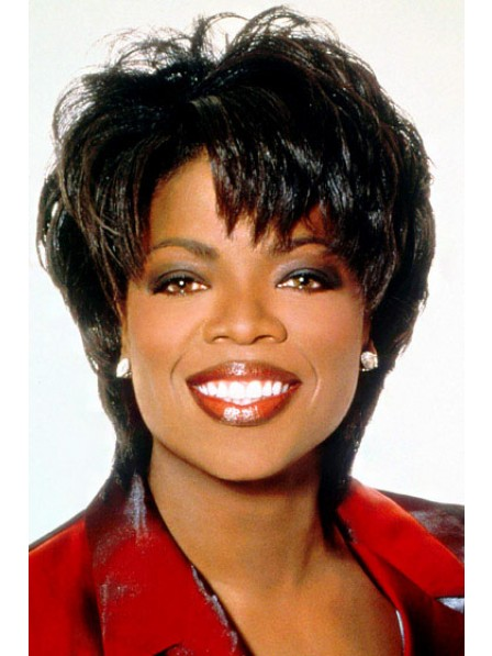 Short Layered Synthetic Wavy Wig
