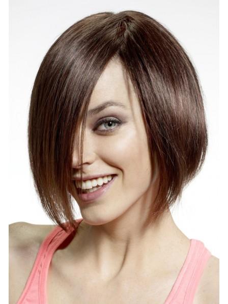 Chin Length Bob Hair Style Women Wig