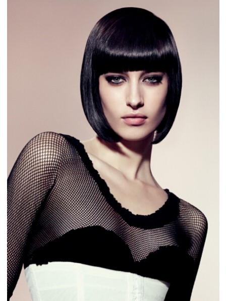 Women Chin Length Bob Synthetic Wig