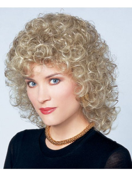 Women's Capless Curly Synthetic Hair Wig
