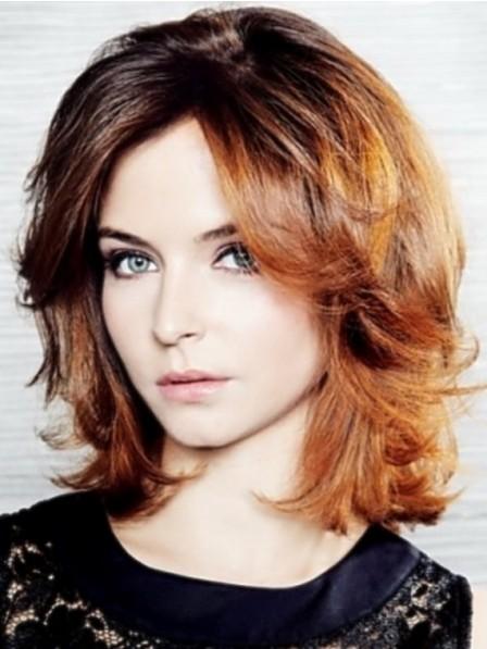 Women Medium Length Hairstyles Wig