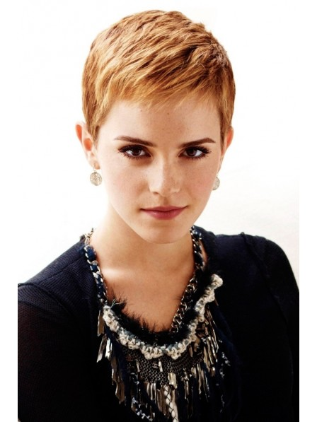 Synthetic Capless Pixie Cut Style Wig