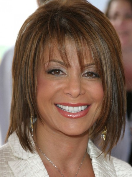 Paula Abdul's Medium Lace Front Human Hair Wig