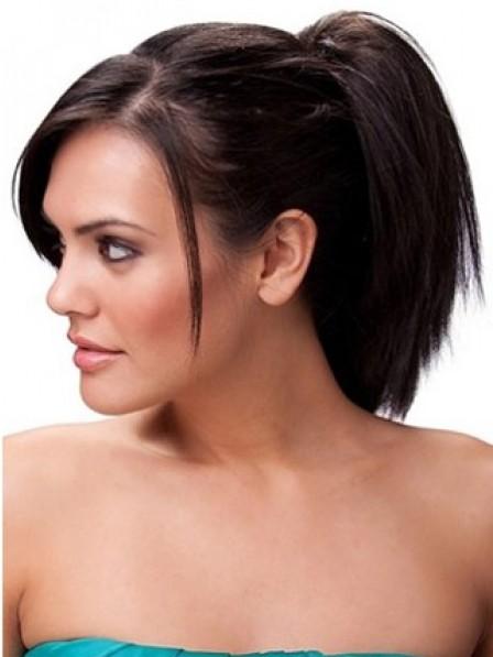 "8"" Straight Auburn Heat Friendly Synthetic Hair Claw Clip Ponytails"