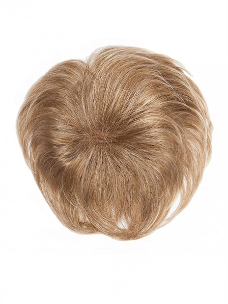 "4.5"" Blonde Human Hair Pieces"