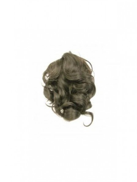 """8"""" Brown Synthetic Hair Claw Clip Ponytails"""