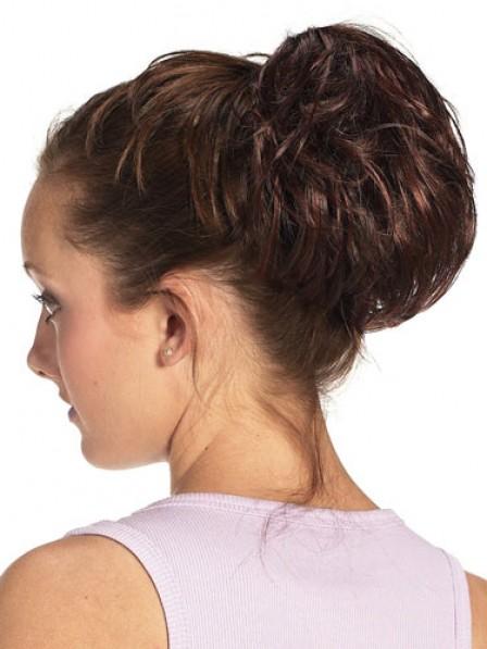 "5"" Auburn Heat Friendly Synthetic Hair Claw Clip Wraps"