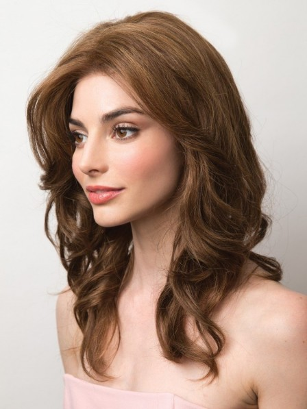 Remy Human Hair Lace Front Wig Mono Top