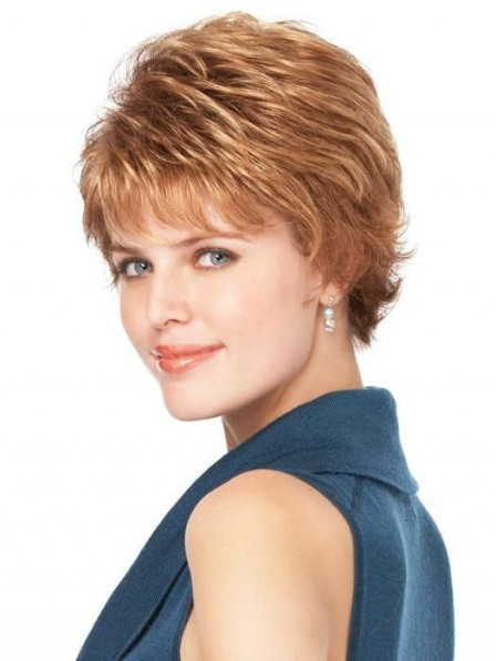 Short Culry Women Wig
