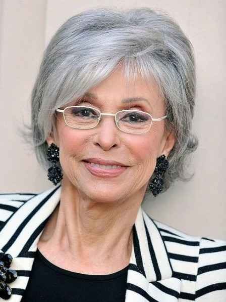 3f3e7d28965518 Short Grey Wigs for Old Ladies Over 50 - Rewigs.co.uk