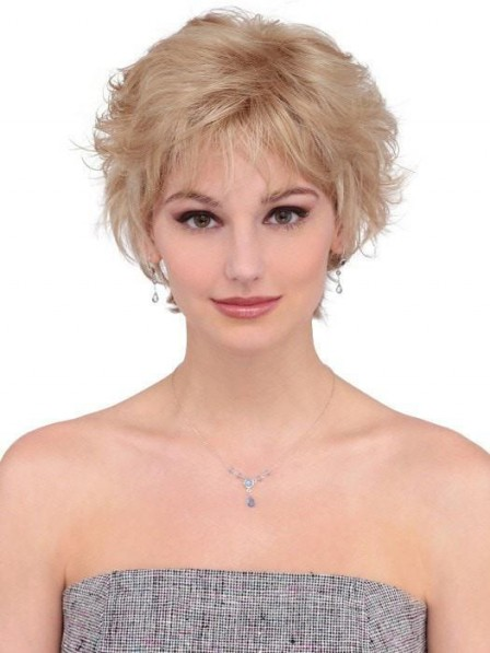 Short Layered Flip Women Quality Synthetic Wig