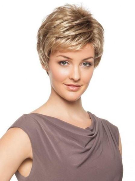 Short Sophisticated Pixie Women Wig