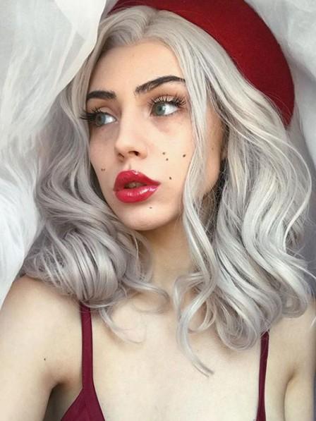 Silver Storm Loose Curl Wig