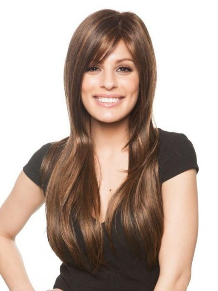 Sleek Long Straight Lace Front Wig