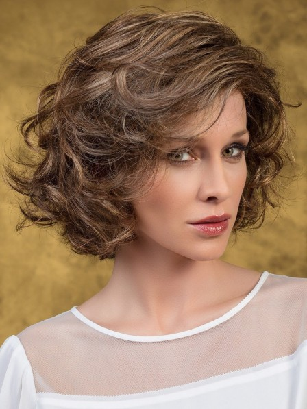 Soft Culry Layers Synthetic Women Hair Wig