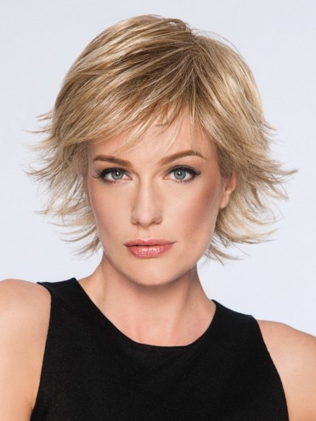 Spiky Cut Short Synthetic Wigs For Ladies