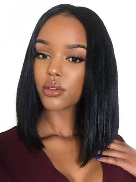 Straight Bob Style 360 Lace Front Wigs 150% Density