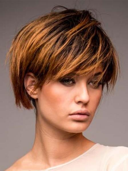 Short Capless Hair Style Human Hair Wig
