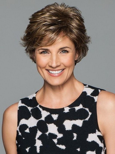 Textured Layers Short Women Wig
