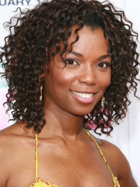Vanessa Williams Medium Culry Hair Wig