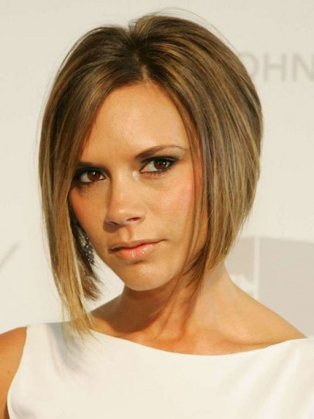 Victoria Beckham Bob Cut Synthetic Hair Wig