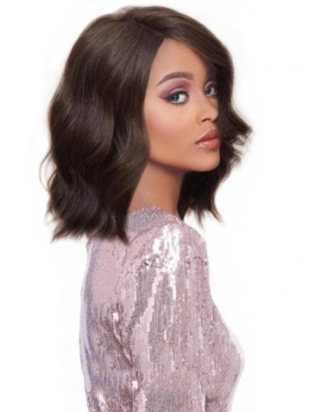 Water wavy wigs for black women synthetic hair made