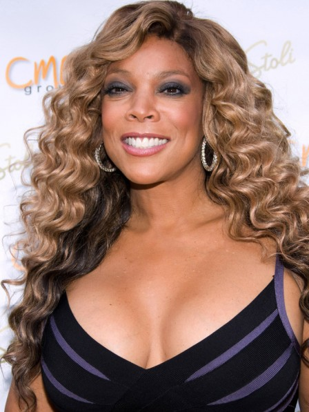 Wendy Williams Long Loose Wavy Lace Front Synthetic Hair