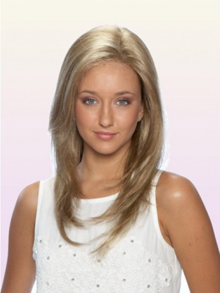 100% Hand-tied Full Lace Long Straight Women Wig