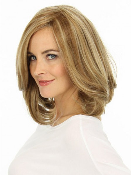 Human Hair Lace Front Blonde Women Wig