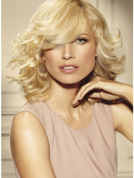Wavy Hair With Bangs Human Hair Wig For Women
