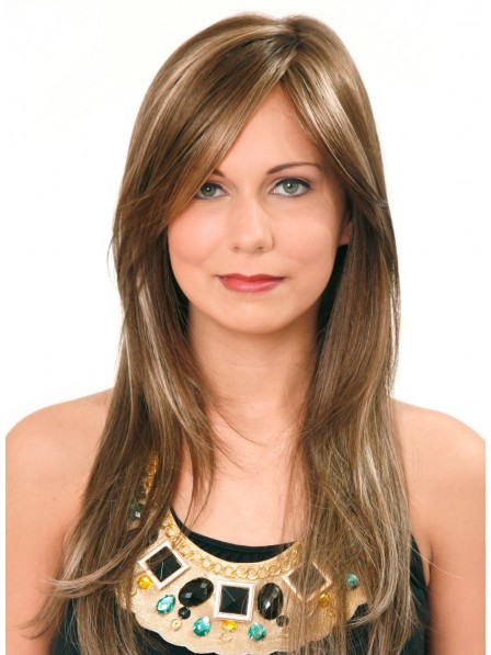 Long Layered Lace Front Straight Hair Wig