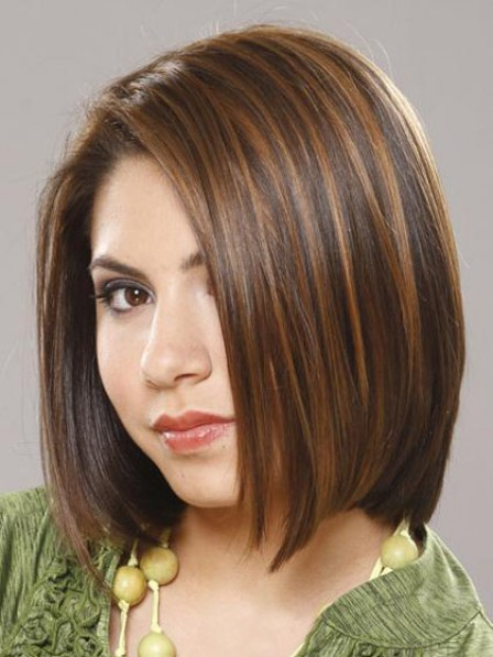 Shoulder Length Straight Human Hair Wig
