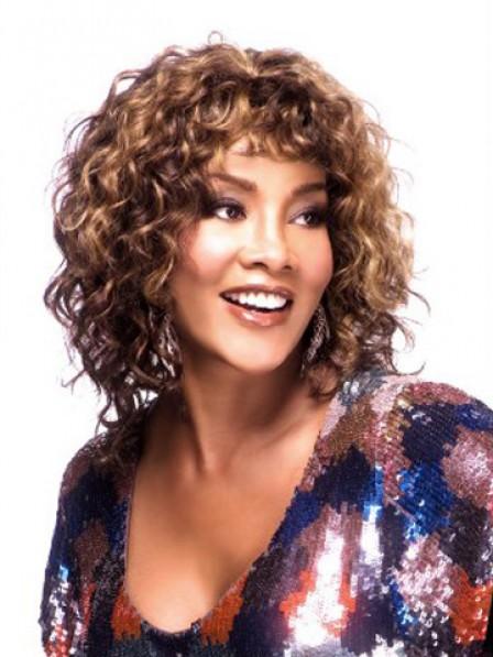 100% Human Hair Capless Curly Hair Wig