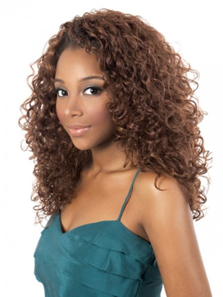 Long Curly Synthetic Capless Wig