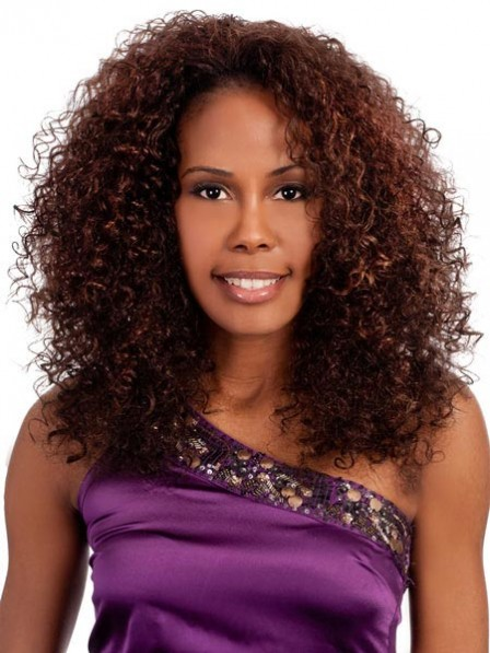 Synthetic Long Curly Women Wig