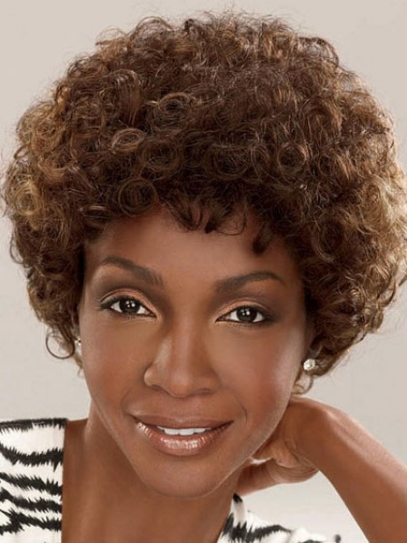 Synthetic Short Curly Women Hair Wig
