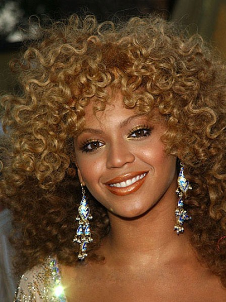 Synthetic Shoulder Length Curly Women Wig