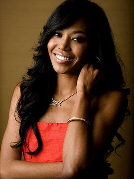 Long Wavy Black African American Wigs for Women