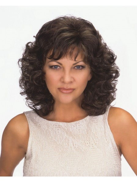 Women's Shoulder Length Wig Curly