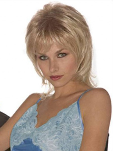 Short Layered With Bangs Synthetic Women Hair