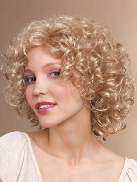 Women's Wigs Short Curly Hair Synthetic Full Wig
