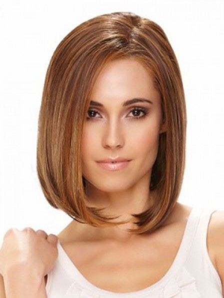 Shoulder Length Bob Straight Lace Front Hair Wig