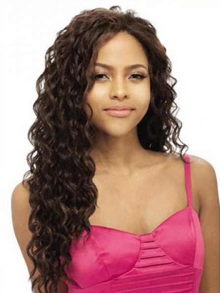 Lace Front Long Wavy Full Wig