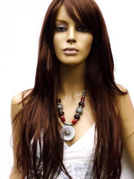 Natural Straight 100% Human Hair Long Straight Hair Wig