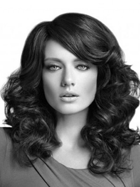 Women's Wave Synthetic Lace Front Wig Natural Hair Wigs