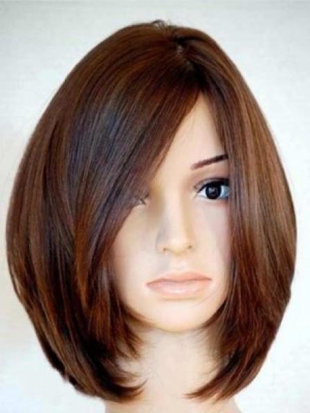 100% Human Hair Long Wavy Lace Front Mono Top Wig