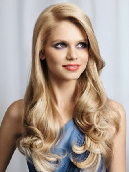 Women's Synthetic Long Wavy Lace Front Wig