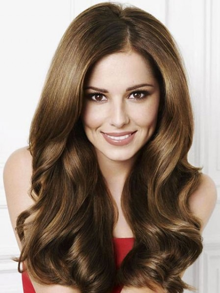 Long Wavy Heat Friendly Synthetic Wig Lace Front Women Wig