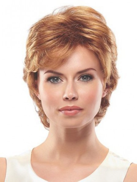 Layered Wavy Synthetic Women Wig